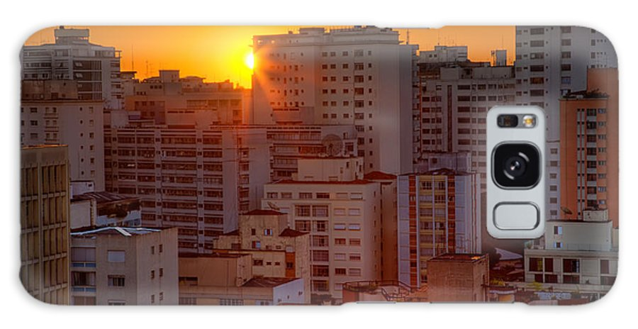 Aerial Galaxy S8 Case featuring the photograph Twilight In Sao Paulo by David Davis