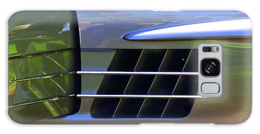 Mercedes Galaxy S8 Case featuring the digital art 300 Gullwing Mercedes by David Jordan