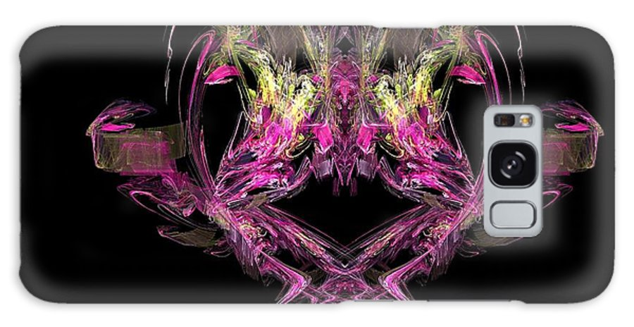Abstract Galaxy S8 Case featuring the painting What Do You See by Bruce Nutting