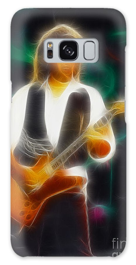 Abstract Galaxy S8 Case featuring the photograph 38 Special-94-jeff-gc19-fractal by Gary Gingrich Galleries