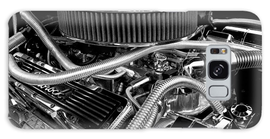 Chevy Galaxy S8 Case featuring the photograph 383 Small Block by Mike Maher