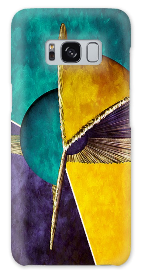 3d Galaxy S8 Case featuring the digital art 3d Abstract 22 by Angelina Vick