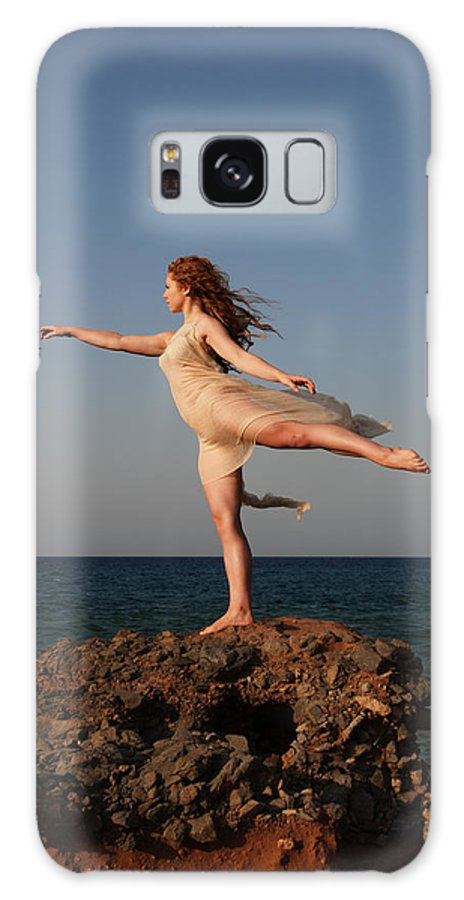 Ballet Galaxy S8 Case featuring the photograph Dancing On The Rocks by Manolis Tsantakis
