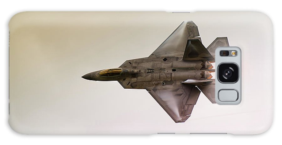 Airplane Galaxy S8 Case featuring the photograph F-22 Raptor by Sebastian Musial