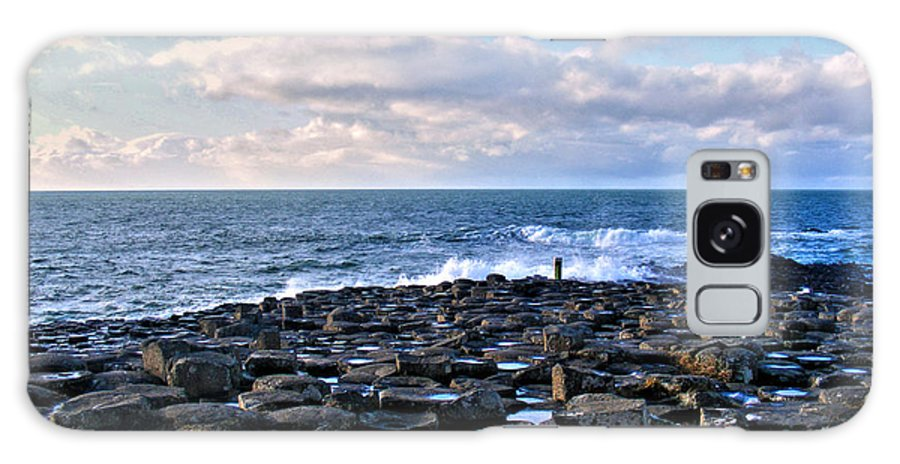 Giant's Causeway Galaxy S8 Case featuring the photograph Giant's Causeway Coast by Nina Ficur Feenan