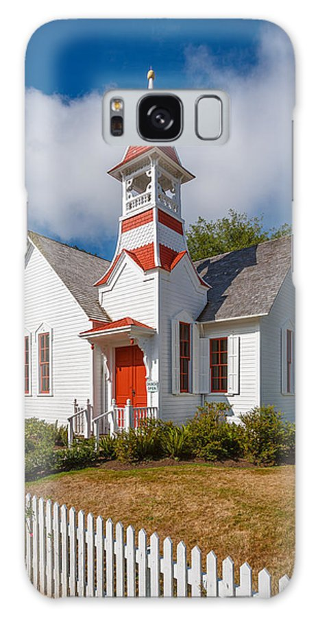 Oysterville Galaxy S8 Case featuring the photograph Oysterville Church by Mike Penney