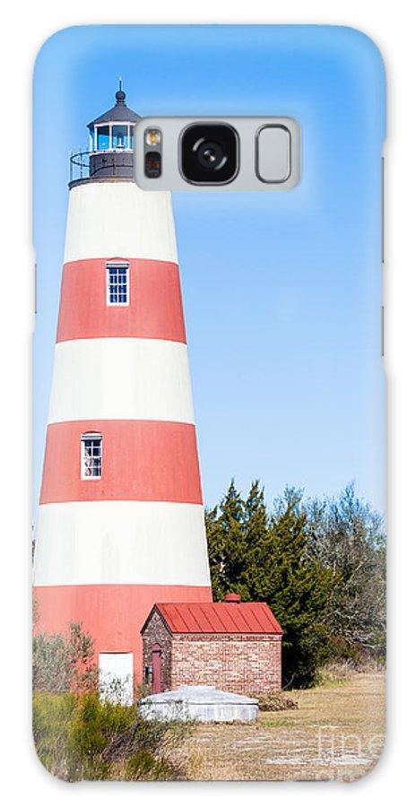 Sapelo Island Lighthouse Galaxy S8 Case featuring the photograph Sapelo Island Lighthouse Sapelo Island Georgia by Dawna Moore Photography