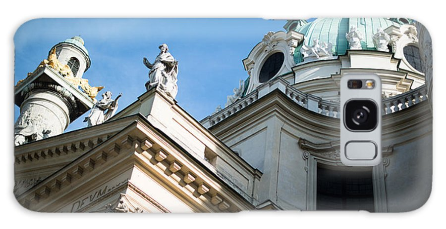St. Charles Galaxy S8 Case featuring the photograph St. Charles Church - Karlskirche - In Vienna by Frank Gaertner