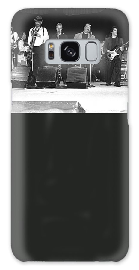 Saxophonist Galaxy S8 Case featuring the photograph Tower Of Power by Concert Photos