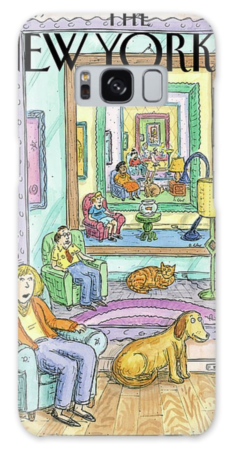 Dog Galaxy S8 Case featuring the painting New Yorker March 4th, 2013 by Roz Chast