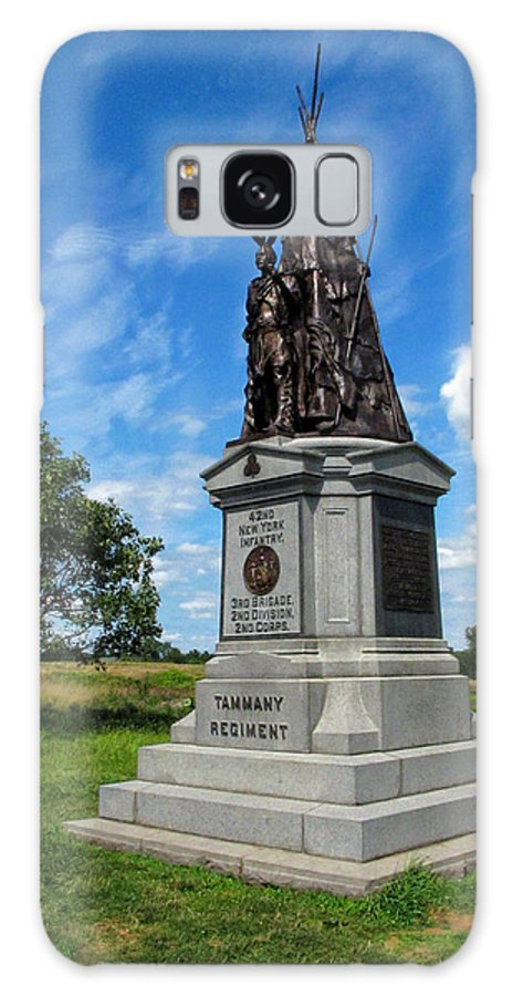 Gettysburg Galaxy S8 Case featuring the photograph 42 Ny Infantry Regiment Memorial by Dave Mills
