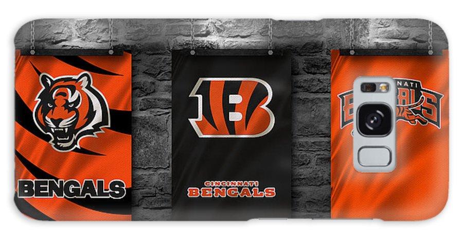Bengals Galaxy S8 Case featuring the photograph Cincinnati Bengals by Joe Hamilton