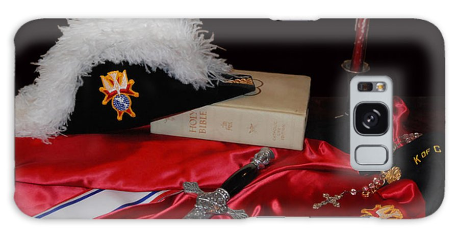 Religious Galaxy S8 Case featuring the photograph 4th Degree Knights Of Colombus by Francine Hall