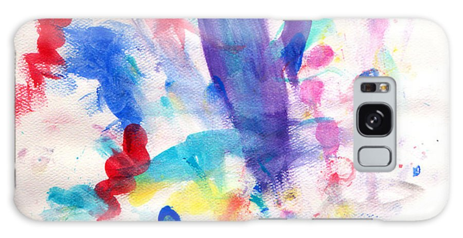 Watercolor Galaxy S8 Case featuring the painting 4th Of July by Fred Wilson
