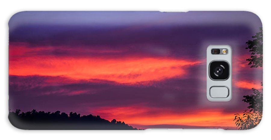 Sunset Galaxy S8 Case featuring the photograph Appalachian Sunset by Thomas R Fletcher