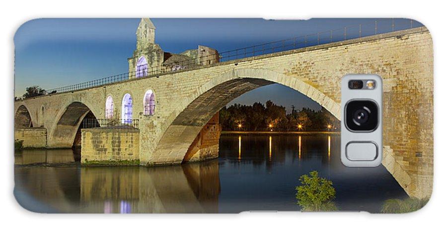 Arch Galaxy S8 Case featuring the photograph Avignon Bridge by Brian Jannsen