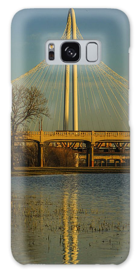 Landscapes Galaxy S8 Case featuring the photograph Bridges by Tinjoe Mbugus