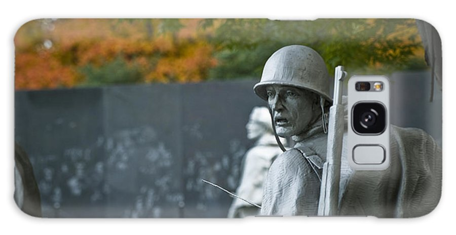 Korean War Galaxy S8 Case featuring the photograph Korean War Memorial by Michael Shake
