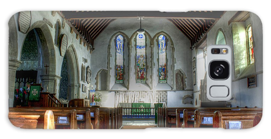 Minster Galaxy S8 Case featuring the photograph Minster Abbey by Dave Godden