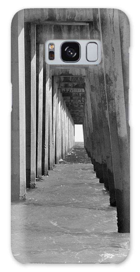 Pensacola Galaxy S8 Case featuring the photograph Pensacola Beach Pier by Vonda Barnett
