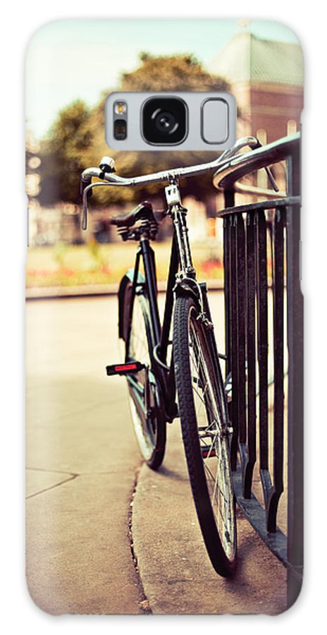 Atmospheric Galaxy S8 Case featuring the photograph Vintage Bike by Innershadows Photography