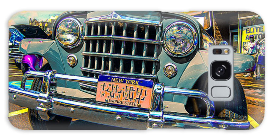 Classic Car Galaxy S8 Case featuring the photograph 50 Willys by Daniel Enwright