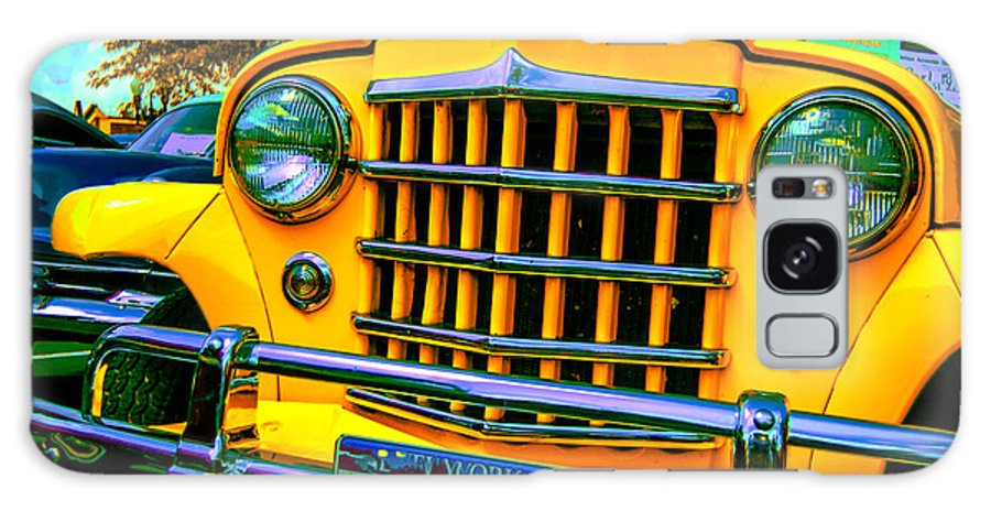 Classic Car Galaxy S8 Case featuring the photograph 51 Jeepster by Daniel Enwright
