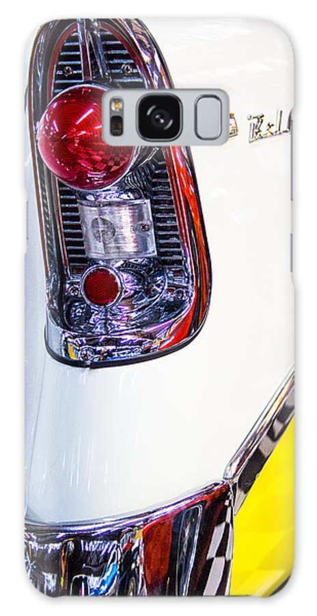 56 Chevy Galaxy S8 Case featuring the photograph 56 Chevy Bel-air Tail Light by Robert Storost