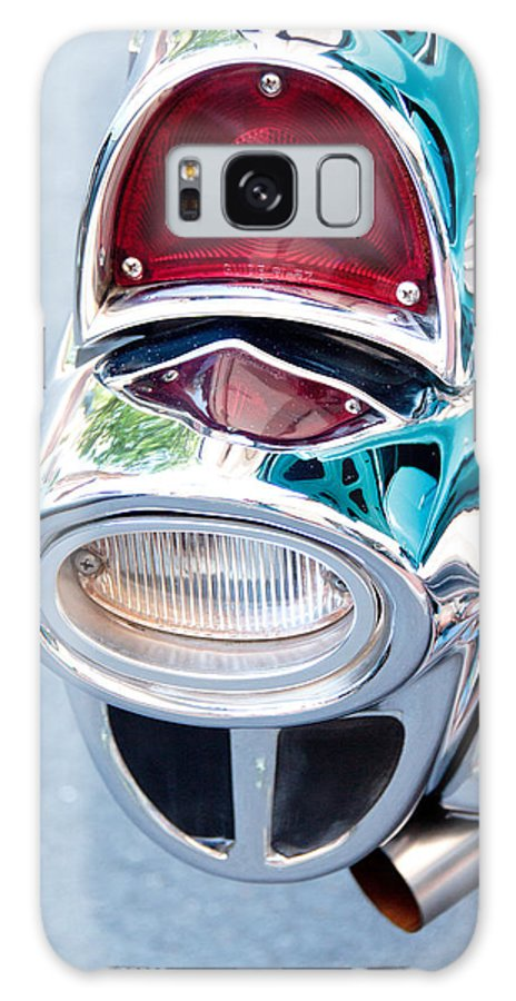57 Chevy Galaxy S8 Case featuring the photograph 57 Chevy Taillight by Brenda Hackett