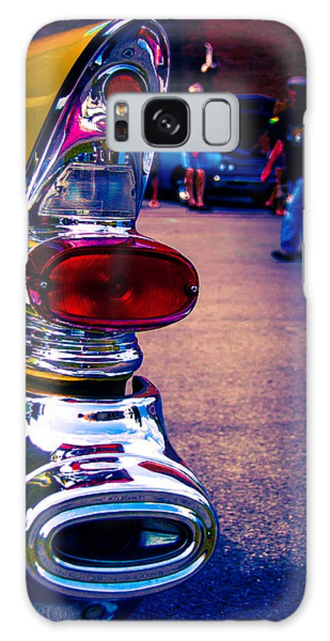 Classic Car Galaxy S8 Case featuring the photograph 57 Pontiac Tail Light by Daniel Enwright