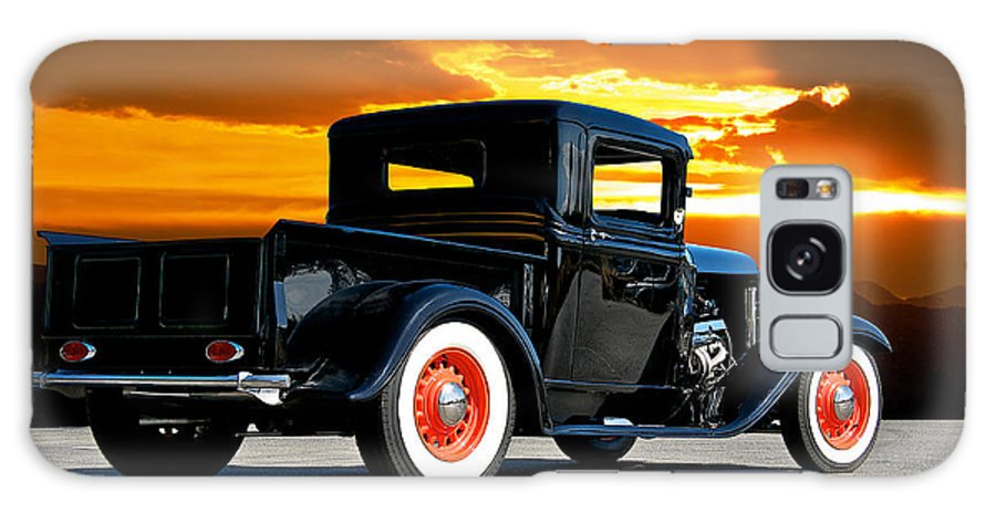 Coupe Galaxy S8 Case featuring the photograph 1932 Ford Pick Up by Dave Koontz