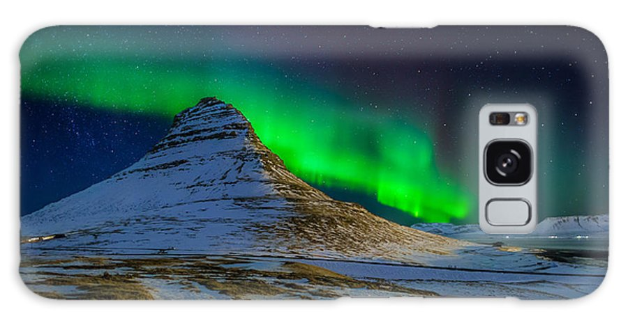 Photography Galaxy S8 Case featuring the photograph Aurora Borealis Or Northern Lights by Panoramic Images