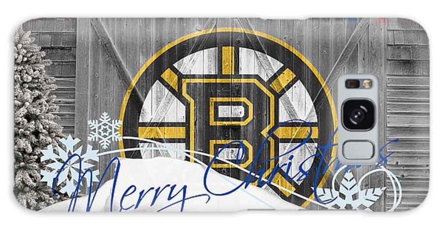 Bruins Galaxy S8 Case featuring the photograph Boston Bruins by Joe Hamilton