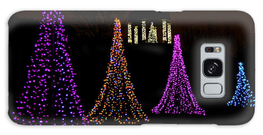 Green Bay Botanical Gardens Galaxy S8 Case featuring the photograph Festival Of Lights - Christmas At The Botanical Gardens by Carol Toepke