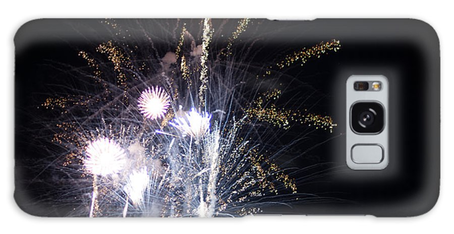 Fireworks Galaxy S8 Case featuring the photograph Fireworks by Frank Gaertner