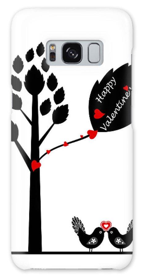 Abstract Galaxy S8 Case featuring the photograph Happy Valentine's Day by IB Photography