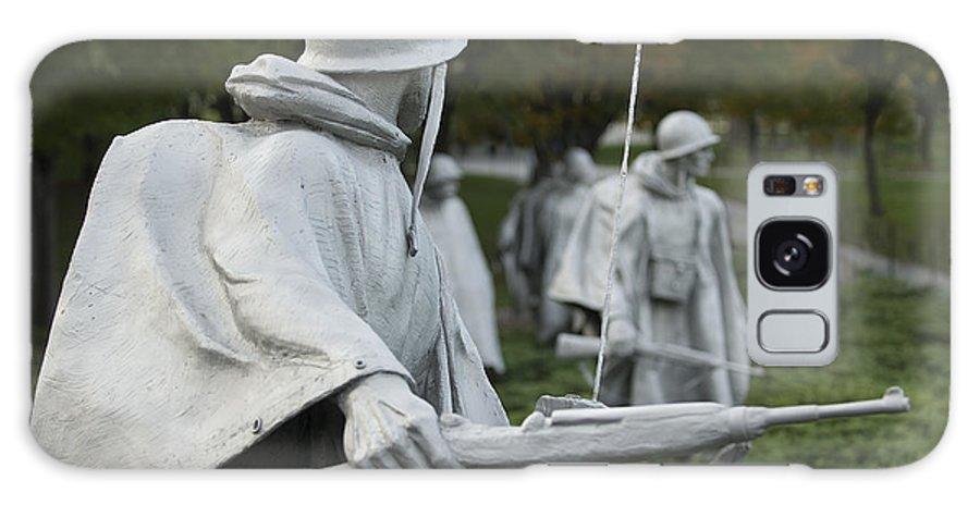Korean War Galaxy S8 Case featuring the photograph Korean War Memorial by Michael Shake