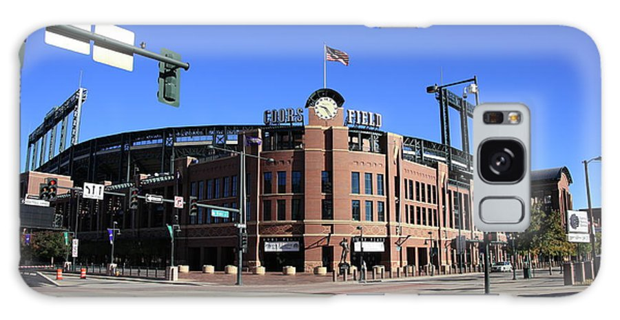 America Galaxy S8 Case featuring the photograph Coors Field - Colorado Rockies by Frank Romeo