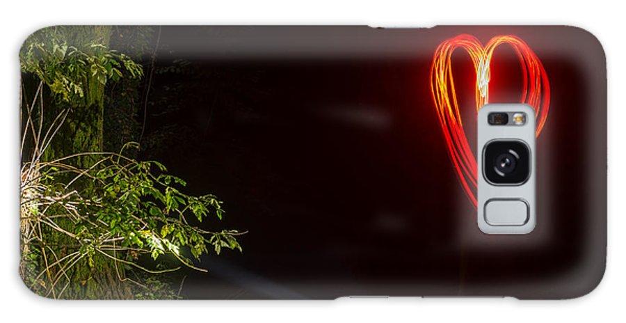 Heart Galaxy S8 Case featuring the photograph Heart by Mats Silvan