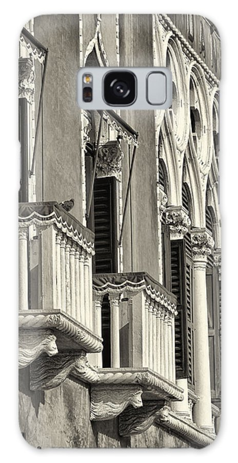 Tuscany Galaxy S8 Case featuring the photograph Old World Window by Dobromir Dobrinov