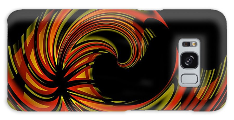 Abstract Galaxy S8 Case featuring the digital art 700 24 by Brian Johnson