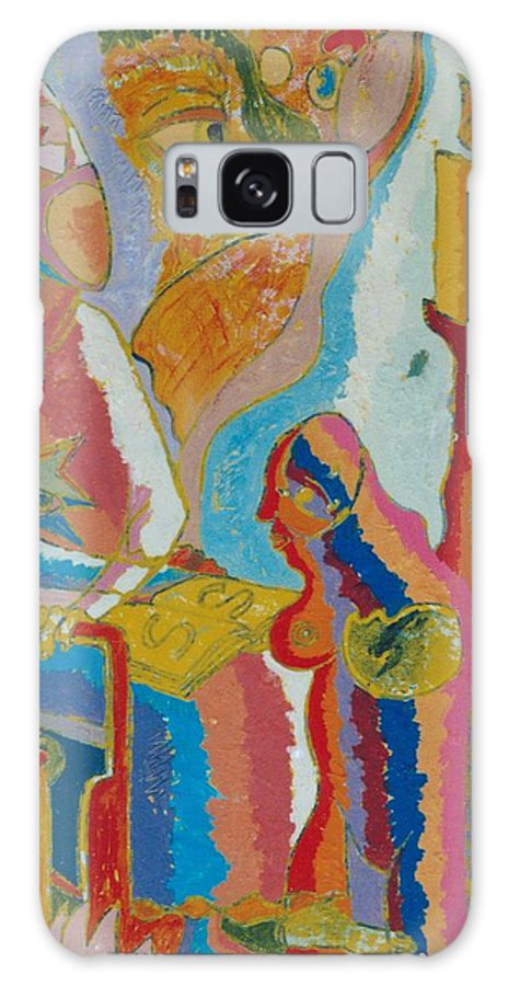 Johnpowellpaintings Galaxy S8 Case featuring the painting 72 by John Powell