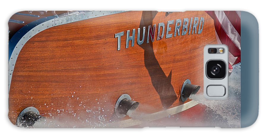 Classic Wooden Boat Galaxy S8 Case featuring the photograph Thunderbird by Steven Lapkin