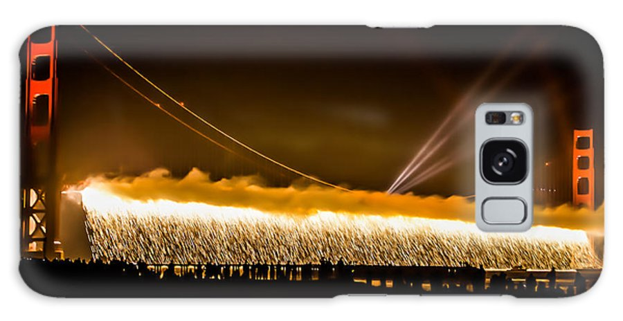 75th Anniversary Celebration Galaxy S8 Case featuring the photograph 75th Anniversary Of The Golden Gate Bridge by Diana Weir