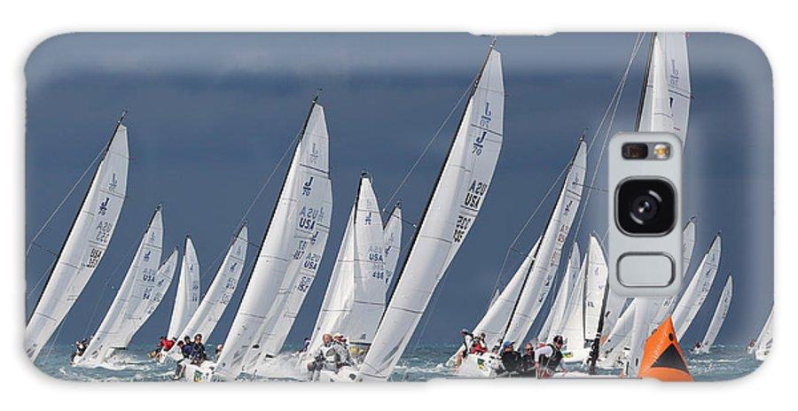 Key Galaxy S8 Case featuring the photograph Key West Race Week by Steven Lapkin