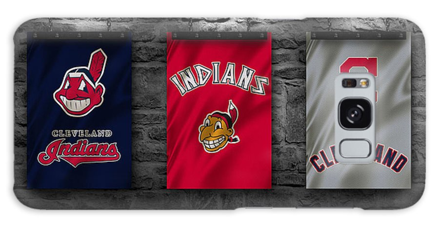 Indians Galaxy Case featuring the photograph Cleveland Indians by Joe Hamilton