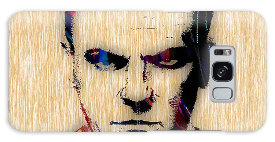 James Cagney Galaxy S8 Case featuring the mixed media James Cagney Collection by Marvin Blaine