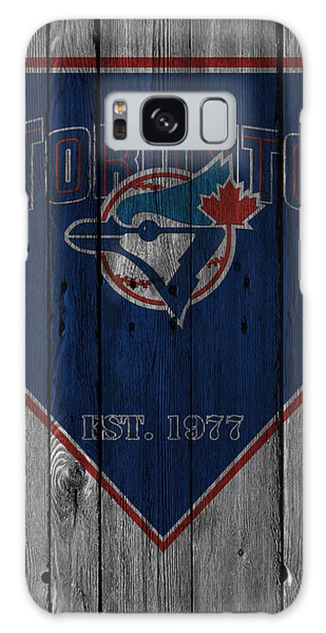 Blue Jays Galaxy S8 Case featuring the photograph Toronto Blue Jays by Joe Hamilton