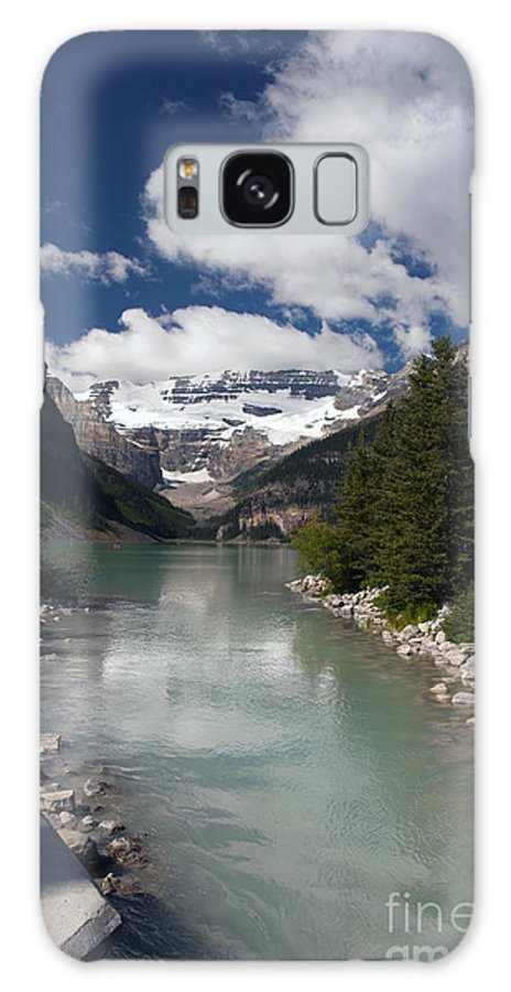 Lake Louise Galaxy S8 Case featuring the photograph 822p Lake Louise Canada by NightVisions