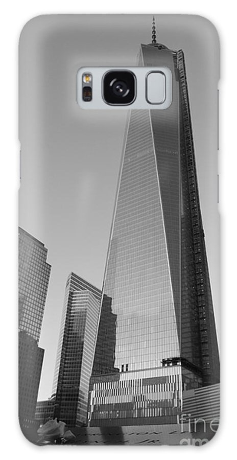 Nyc Galaxy S8 Case featuring the photograph 9/11 Memorial by Shiela Mahaney
